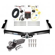 "Reese Trailer Tow Hitch For 12-19 Nissan NV1500 NV2500 NV3500 Complete Package w/ Wiring and 2"" Ball"