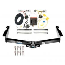 Reese Trailer Tow Hitch For 12-19 Nissan NV1500 NV2500 NV3500 w/ Wiring Harness Kit