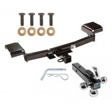 "Reese Trailer Tow Hitch Receiver For 10-16 Hyundai Tucson Kia Sportage w/Tri-Ball Triple Ball 1-7/8"" 2"" 2-5/16"""