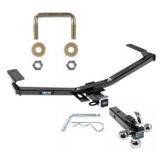 "Reese Trailer Tow Hitch Receiver For 11-14 Ford Edge Sport w/Tri-Ball Triple Ball 1-7/8"" 2"" 2-5/16"""