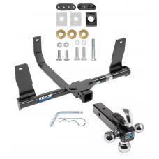"Reese Trailer Tow Hitch Receiver For 10-15 Mercedes-Benz GLK350 w/Tri-Ball Triple Ball 1-7/8"" 2"" 2-5/16"""