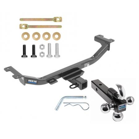 "Reese Trailer Tow Hitch Receiver For 10-18 Acura RDX w/Tri-Ball Triple Ball 1-7/8"" 2"" 2-5/16"""