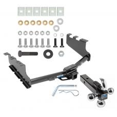 "Reese Trailer Tow Hitch Receiver For 14-19 Chevy Silerado GMC Sierra 1500 w/Tri-Ball Triple Ball 1-7/8"" 2"" 2-5/16"""