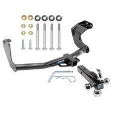 "Reese Trailer Tow Hitch Receiver For 14-19 Mitsubishi Outlander Except Sport w/Tri-Ball Triple Ball 1-7/8"" 2"" 2-5/16"""