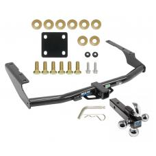 "Reese Trailer Tow Hitch Receiver For 14-19 Toyota Highlander 18 Lexus RX350L w/Tri-Ball Triple Ball 1-7/8"" 2"" 2-5/16"""