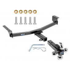 "Reese Trailer Tow Hitch Receiver For 08-19 Nissan Rogue w/Tri-Ball Triple Ball 1-7/8"" 2"" 2-5/16"""