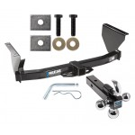"""Reese Trailer Tow Hitch Receiver For 99-04 Jeep Grand Cherokee w/Tri-Ball Triple Ball 1-7/8"""" 2"""" 2-5/16"""""""