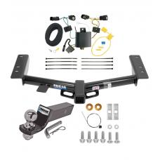 "Reese Trailer Tow Hitch For 15-20 Ford Transit 150 250 350 Complete Package w/ Wiring and 2"" Ball"