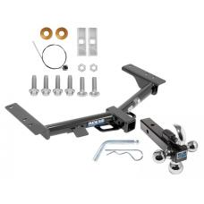 "Reese Trailer Tow Hitch Receiver For 15-19 Ford Transit 150 250 320 Except Cab and Chassis w/Tri-Ball Triple Ball 1-7/8"" 2"" 2-5/16"""