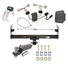 "Reese Trailer Tow Hitch For 05-15 Toyota Tacoma Except X-Runner Deluxe Package Wiring 2"" Ball and Lock"