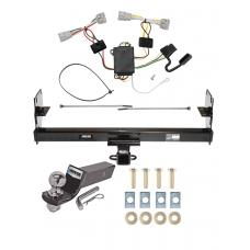 "Reese Trailer Tow Hitch For 05-15 Toyota Tacoma Except X-Runner Complete Package w/ Wiring and 2"" Ball"