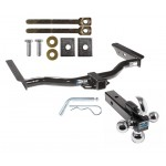 """Reese Trailer Tow Hitch Receiver For 96-02 Toyota 4Runner w/Tri-Ball Triple Ball 1-7/8"""" 2"""" 2-5/16"""""""
