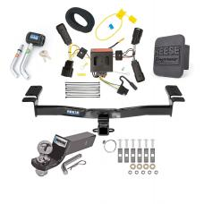 "Reese Trailer Tow Hitch For 11-14 Ford Edge Except Sport Deluxe Package Wiring 2"" Ball and Lock"