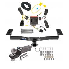 "Reese Trailer Tow Hitch For 11-14 Ford Edge Except Sport Complete Package w/ Wiring and 2"" Ball"