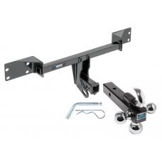 "Reese Trailer Tow Hitch Receiver For 15-19 Mercedes-Benz GLA250 17-19 Infiniti QX30 w/Tri-Ball Triple Ball 1-7/8"" 2"" 2-5/16"""