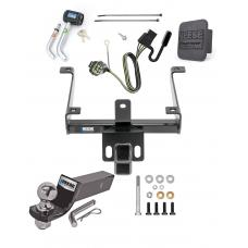 "Reese Trailer Tow Hitch For 14-20 Land Rover Range Rover Sport Deluxe Package Wiring 2"" Ball and Lock"