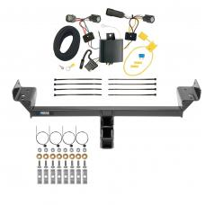 Reese Trailer Tow Hitch For 15-19 Ford Edge Titanium and Sport Models w/ Wiring Harness Kit