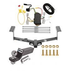 "Reese Trailer Tow Hitch For 06-12 Toyota RAV4 Complete Package w/ Wiring and 2"" Ball"