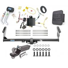 "Reese Trailer Tow Hitch For 15-20 Toyota Sienna Except SE Deluxe Package Wiring 2"" Ball and Lock"