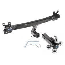 "Reese Trailer Tow Hitch Receiver For 11-18 Volvo S60 15-17 V60 08-10 V70 08-16 XC70 w/Tri-Ball Triple Ball 1-7/8"" 2"" 2-5/16"""