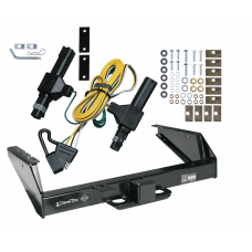 Class 5 Trailer Tow Hitch For 86-93 Dodge D/W 250 350 94 Ram 2500 3500 w/ Wiring Harness Kit