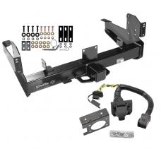 Class 5 Trailer Hitch w/ 7-Way Wiring Harness Kit For 03-09 Dodge Ram 2500 3500 w/ Factory Tow Prep Package