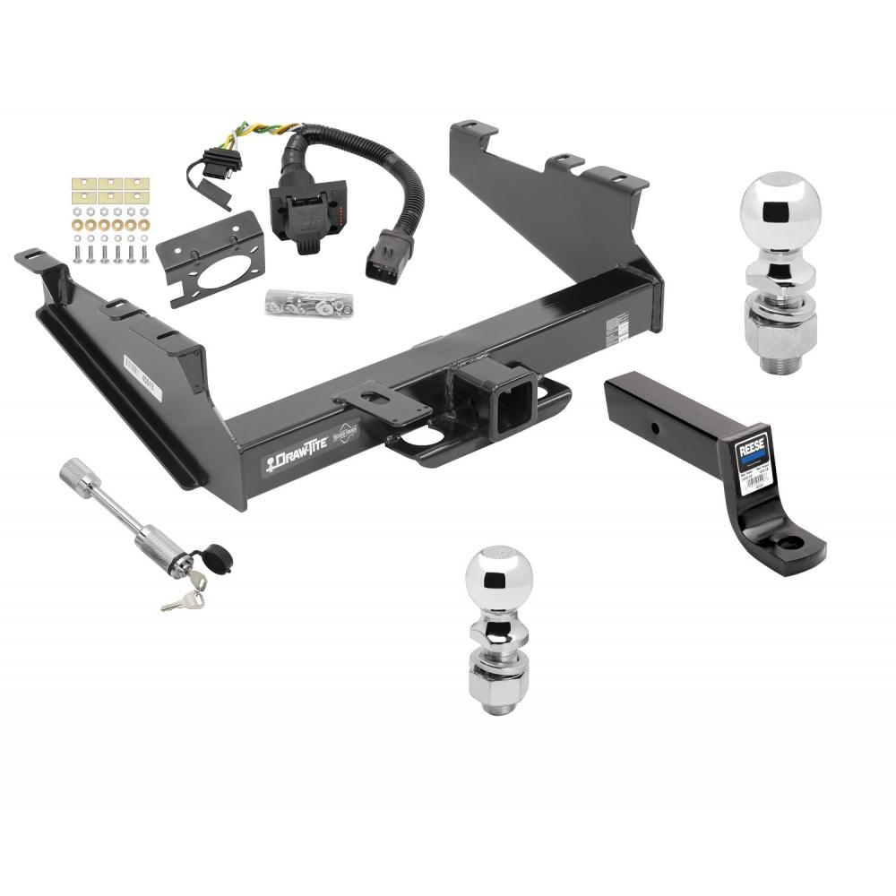 Class 5 Trailer Hitch w/ 7-Way Wiring Harness Kit For 00 ...