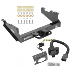 Class 5 Trailer Hitch w/ 7-Way Wiring Harness Kit For 00-02 Dodge Ram 2500 3500  w/ Factory Tow Prep Package