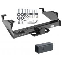 """Class 5 Trailer Tow Hitch For 99-17 F-350 F-450 F-550 Super Duty Cab & Chassis w/ 2-1/2"""" to 2"""" Ball Receiver Opening Reducer"""