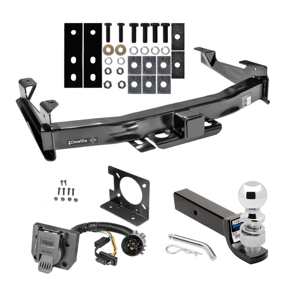 Class 5 Trailer Hitch Package W   Wiring For 01