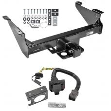 Class 5 Trailer Hitch w/ 7-Way Wiring Harness Kit For 03-09 Dodge RAM 1500 2500 3500 Except Mega Cab w/ Factory Tow Prep Package
