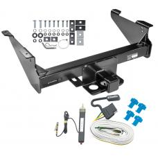 Class 5 Trailer Tow Hitch For 03-19 Dodge RAM 1500 2500 3500 Except Mega Cab w/ Wiring Harness Kit