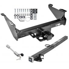 "Class 5 Trailer Tow Hitch For 03-19 Dodge RAM 1500 2500 3500 Except Mega Cab w/ 24"" or 34"" Extension and Towing Lock"