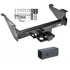 "Class 5 Trailer Tow Hitch For 03-19 Dodge RAM 1500 2500 3500 Except Mega Cab w/ 2-1/2"" to 2"" Ball Receiver Opening Reducer"