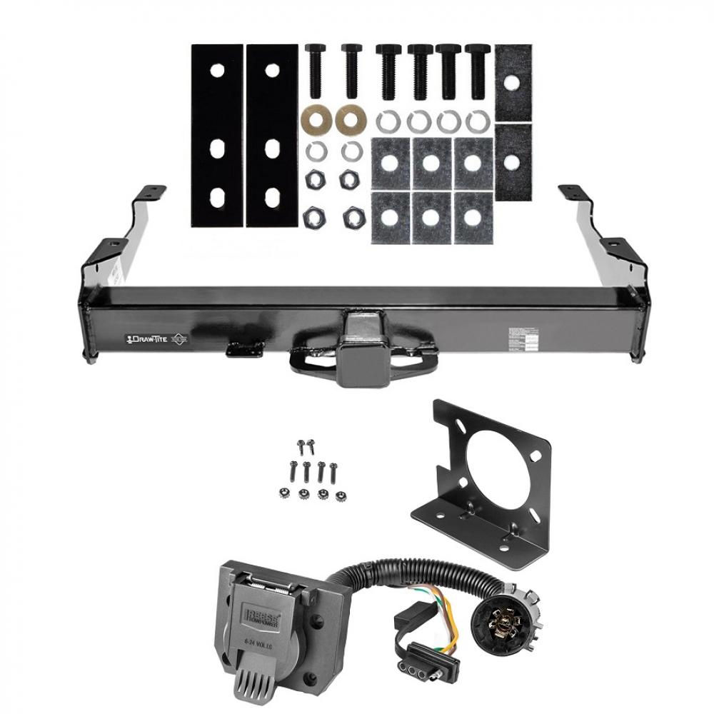 Cl 5 18K Trailer Hitch w/ Wiring Kit For 01-10 Chevy Silverado ...  Flat Wiring Harness Chevy Truck on 2001 chevy truck shift cable, 2001 chevy truck headlights, 2001 chevy truck tailgate parts, 2001 chevy truck parts diagram,