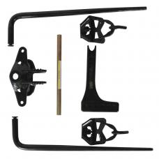 Reese Pro Series RB2 10K GTW Trailer Weight Distribution Hitch w/ Shank Round Bar 600 lbs TW Load Leveling Travel Camper