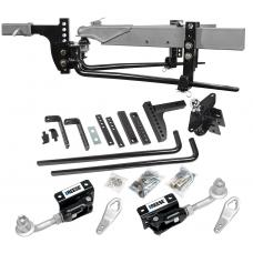 """Reese 11.5K Trailer Weight Distribution Hitch Kit w/ Head, Dual Cam Sway Control, Deep Drop Shank, 2-5/16"""" Ball, Spring Bars, Control Brackets and Lift-Assist Bar, Hardware - Reduce Sway on Travel Trailer"""