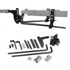 """Reese 11.5K Trailer Weight Distribution Hitch Kit w/ Head, Deep Drop Shank, 2-5/16"""" Ball, Spring Bars, Control Brackets and Lift-Assist Bar, Hardware - Reduce Sway on Travel Trailer"""