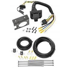 Complete Brake Control Wiring Includes 4-Way to 7-Way RV Plug Adapter, Duplex Wires, Ring Terminals and Circuit Breakers