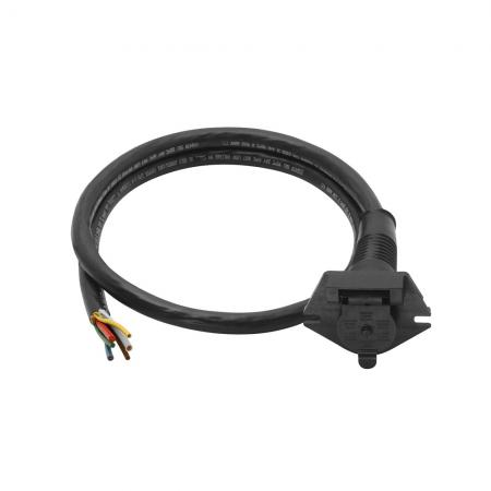 6-Way Super Sealed Car End w/ 4 ft Cable