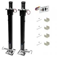 Reese 8,000 lbs. 5th Wheel Electric Landing Gear Trailer Jack Set - Dual Motors - 36 Ft. Travel