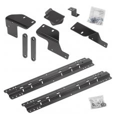 Reese Quick Install Rail Kit For 07-19 Toyota Tundra Custom Fit No Drill Base Rails For 5th Wheel and Gooseneck Trailer Hitch Fifth