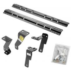Reese Quick Install Rail Kit For 03-12 Dodge Ram 2500 3500 06-08 Ram 1500 Custom Fit No Drill Base Rails For 5th Wheel and Gooseneck Trailer Hitch Fifth