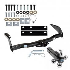 "Trailer Tow Hitch Receiver For 78-03 Dodge Ram Van B-Series w/Tri-Ball Triple Ball 1-7/8"" 2"" 2-5/16"""