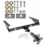 """Trailer Tow Hitch Receiver For 00-06 Toyota Tundra w/Tri-Ball Triple Ball 1-7/8"""" 2"""" 2-5/16"""""""