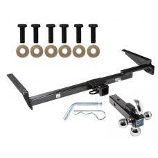 "Trailer Tow Hitch Receiver For 99-03 Lexus RX300 01-03 Toyota Highlander w/Tri-Ball Triple Ball 1-7/8"" 2"" 2-5/16"""