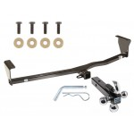 "Trailer Tow Hitch Receiver For 11-13 Kia Sorento 10-12 Hyundai Santa Fe w/Tri-Ball Triple Ball 1-7/8"" 2"" 2-5/16"""
