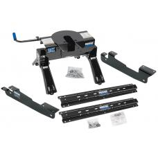 Reese Outboard Quick Install Rail Kit and 20K 5th Wheel Hitch For 04-14 F150 Custom Fit No Drill Base Rails For 5th Wheel and Trailer Fifth