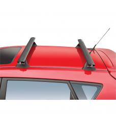Rola Roof Rack fits 03-10 Pontiac Vibe Toyota Matrix without Factory Rails Roof Rack Cross Bars (1200mm) Rola Easy Mount Roof Top