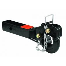 "Draw-Tite 10,000 Lbs 5 Ton 2"" Receiver Mount Pintle Hook Trailer Tow Hitch Heavy Duty"